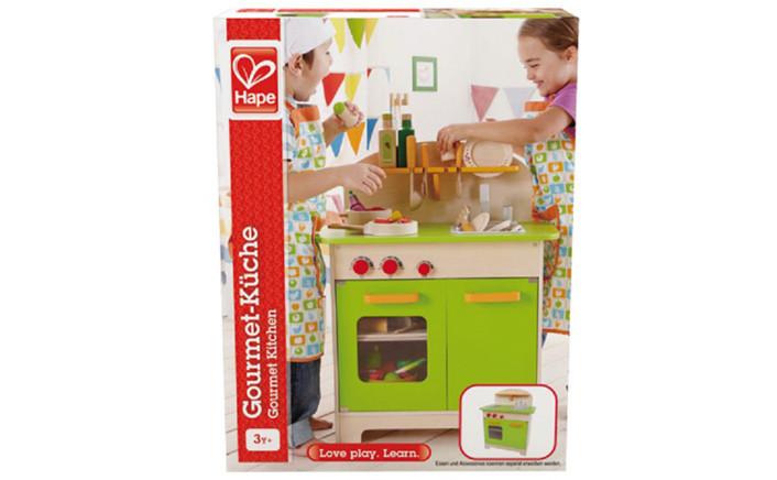 Cucina gourmet bambini giochi cucina in legno hape - Mini cucina per bambini ...
