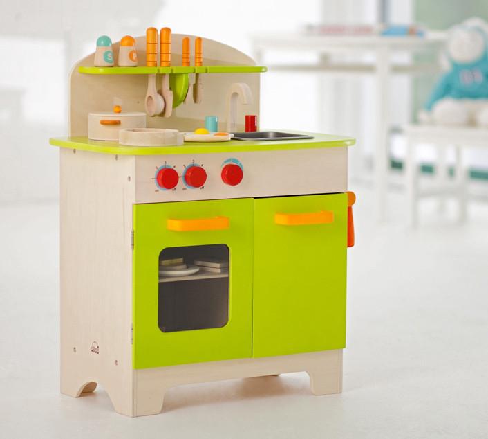 Cucina gourmet bambini giochi cucina in legno hape - Cucina legno bambini ...