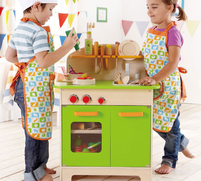 Cucina Gourmet Bambini - Giochi Cucina in Legno - Hape - Hape ...