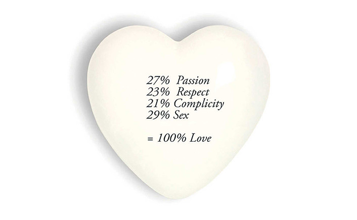 100% Love - Heart Collection