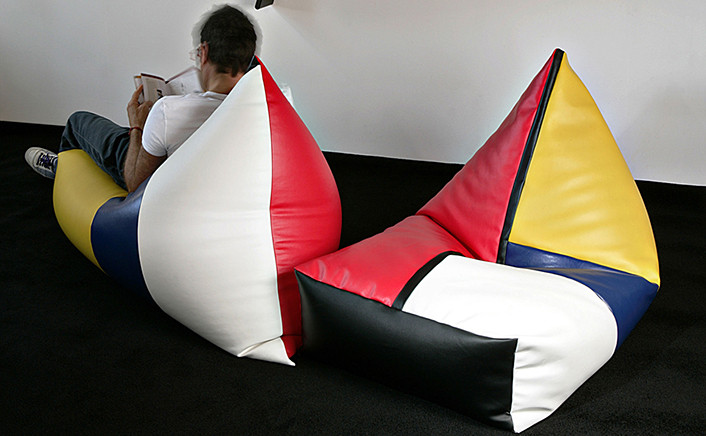 Poltrona Peggy Mondrian Style