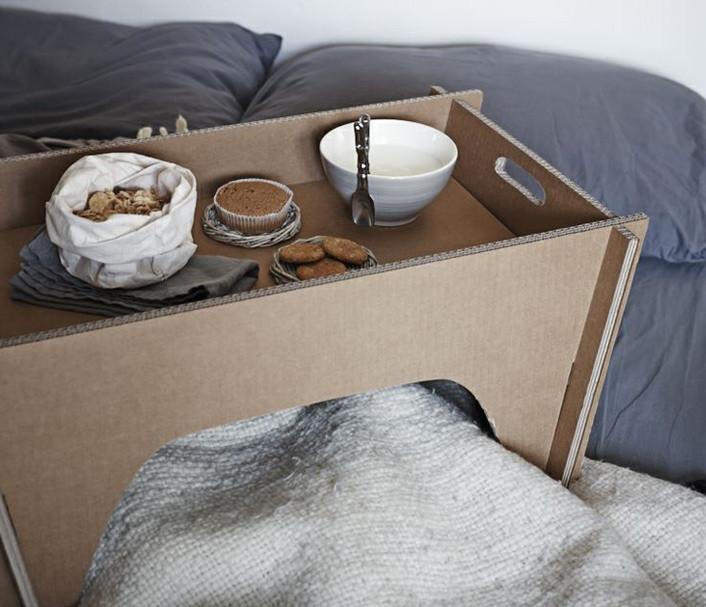 Vassoio da letto colazione romantica vassoi e - Vassoio colazione letto ...