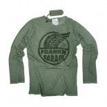 T-Shirt Uomo Maniche Lunghe Frankie Garage Vintage