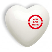 You Are Here - Heart Collection