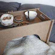 Vassoio da letto - Colazione Romantica