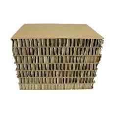 Sgabello in Cartone Cubetto