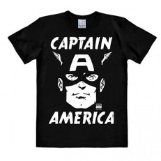 T-Shirt Uomo Portrait Captain America